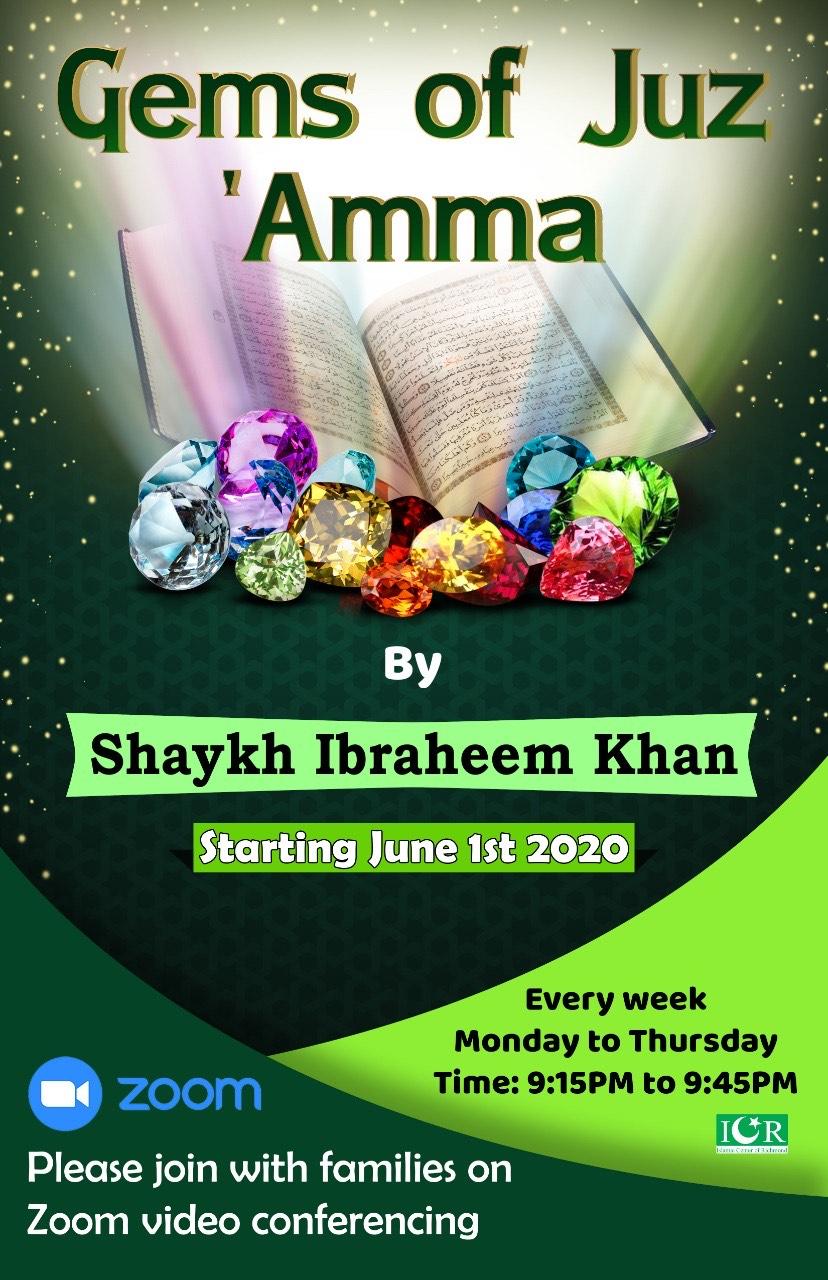 Daily program on Juz 'Amma